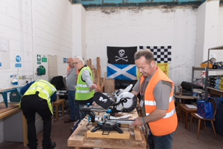 Forth Valley Men's Shed Moving To New Premises