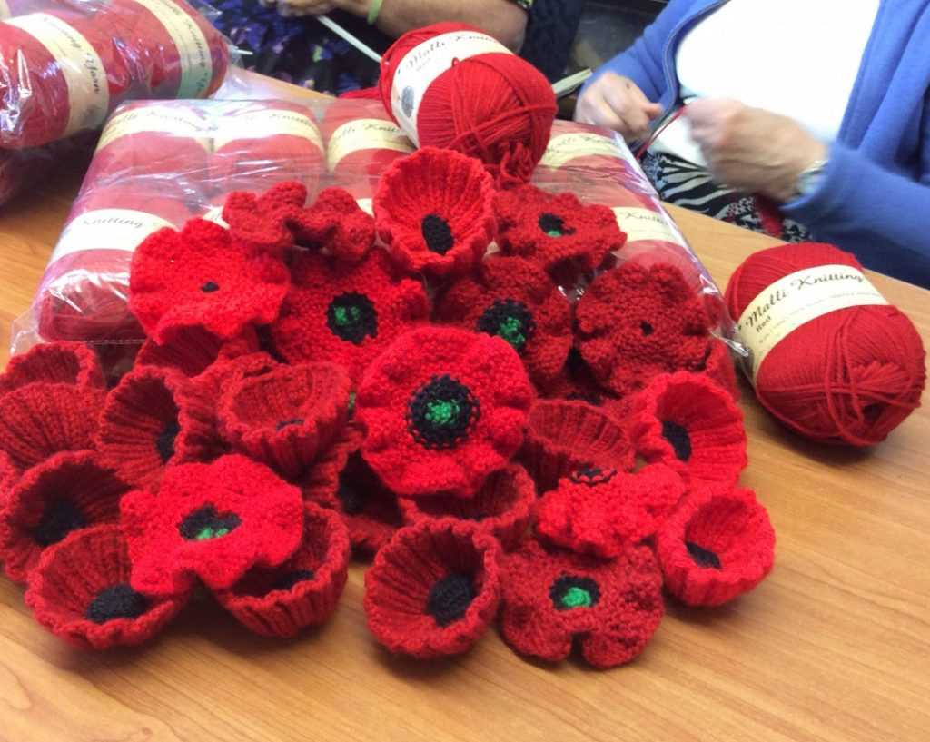 CTSI Knitted Poppy Appeal