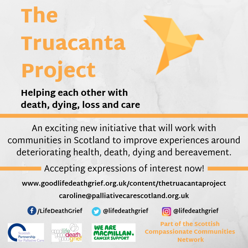 The Truacanta Project – Good Life, Good Death, Good Grief