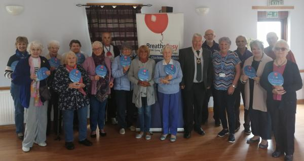 Queen's Award for Voluntary Service – Breathe Easy Clackmannanshire